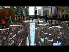 Joe e Max, street art guinnes 3d for  Reebok