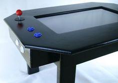 DIY arcade game coffee table