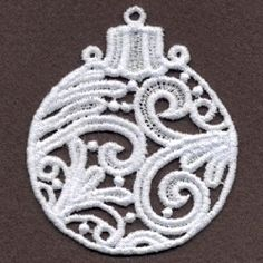FSL Filigree Christmas 5 - 4x4 | What's New | Machine Embroidery Designs | SWAKembroidery.com Ace Points Embroidery