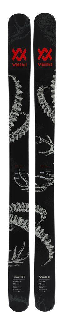 Volkl Revolt 124 Mens Ski (Team Setup) Mens Skis, Snow Skiing, Pure Products, Graphics, Graphic Design