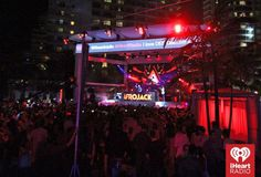 #Afrojack #Live #NightShow #Lights #PoolParty ~ Photo by: Getty for #iHeartRadio — at Fontainebleau Miami Beach.