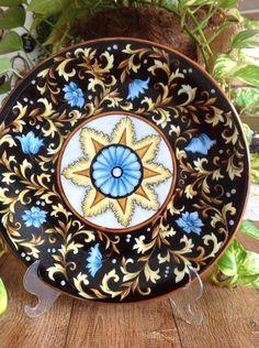 Porcelana pintada Lizabeth Sbroggio