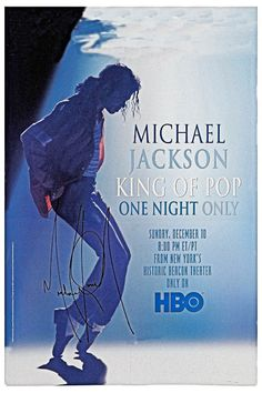 "MICHAEL JACKSON Concert Poster • 100% Mint unused condition • Well discounted price + we combine shipping • Click on image for awesome view • Poster is 12"" x 18"" • Semi-Gloss Finish • Great Music Collectible - superb copy of original • Usually ships within 72 hours or less with tracking. • Satisfaction guaranteed or your money back.Go to: Sportsworldwest.com"