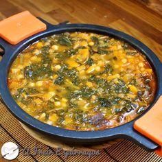 Garbanzos con calabaza y espinacas Nut Recipes, Veggie Recipes, Mexican Food Recipes, Vegetarian Recipes, Cooking Recipes, Healthy Recipes, Ethnic Recipes, Spanish Recipes, Recipies