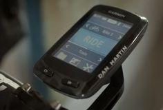 New Garmin 510 touchscreen GPS bike computer