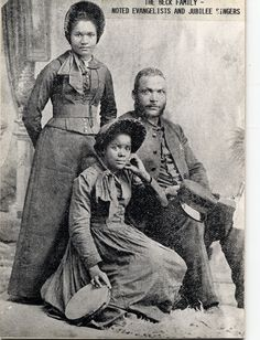 Pioneers of Salvation Army ministry. The Beck Family.