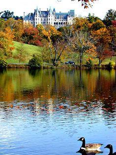 Fall Colors at the Biltmore Estate in Asheville, North Carolina, USA ...