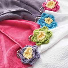 Buy Yarn Online and Find Crochet and Knitting Supplies and Patterns Crochet Cable, Quick Crochet, Crochet Home, Knit Or Crochet, Crochet Motif, Crochet Kitchen, Crochet Leaves, Knitted Flowers, Embroidery Designs