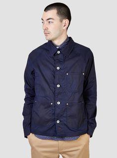 APOLIS Waxed French Work Jacket