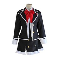 Introducing Mtxc Womens Diabolik Lovers Cosplay Costume Yui Komori Female School Uniform Size XLarge Black. Get Your Ladies Products Here and follow us for more updates!