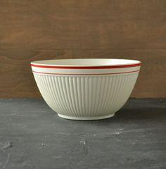 Vintage Anchor Hocking Ribbed Mixing Bowl