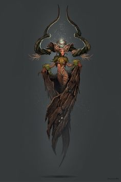 Concept Art World — Check out this wood elemental character concept...