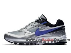 info for b3b06 a5518 Running Nike Air Max 97 BW Chaussures Nike Officiel 2019 Pas Cher Pour Homme  Gris Bleu