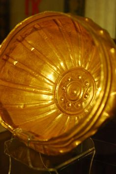 Golden Bowl  From the Panagyurishte Treasure  #panagyurishte #treasure #gold #bulgaria #thracian #bowl