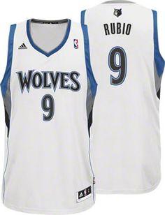 Minnesota Timberwolves Jersey: adidas White Swingman #timberwolves #twolves #nba