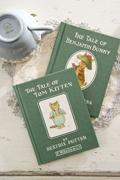 Beatrix Potter books, read these to my kids so many times! My daughters favotite was Jemima Puddleduck!