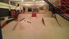 indoor skate parks - Google Search Youth Center, Skate Park, Design Reference, Bmx, Indoor, Interior, Image, Skateboarding, Snowboarding