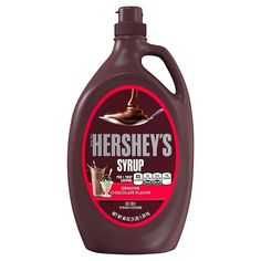 HERSHEY'S Chocolate Syrup is as versatile as it is delicious! Use it as an ice cream topping or blend it with milk and ice cream to create a chocolate-flavored milkshake! Chocolate Hershey, Hersheys, Chocolate Sundae, Hot Chocolate, Chocolate Dipped, Chocolate Syrup Recipes, Best Chocolate Desserts, Chocolate Flavors, Milk Shakes