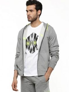 NIKE Zippered Hoodie With Large Swoosh