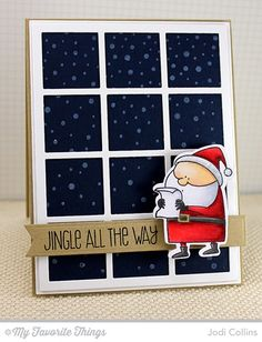 Jingle All The Way! by Kharmagirl - Cards and Paper Crafts at Splitcoaststampers