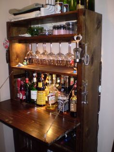 Have a cocktail on an Ivar bar | IKEA Hackers Clever ideas and hacks for your IKEA