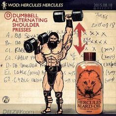 Exercise Standing Up To Strengthen Your Core #hercules #beard #shoulderworkout