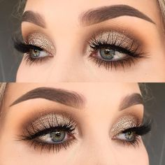 "1,559 Likes, 9 Comments - @helenesjostedt on Instagram: ""No I used @makeupaddictioncosmetics vintage palette (shadows: dirty brown and cocoa lace) 