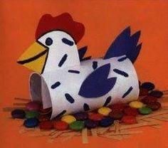 paper roll chicken