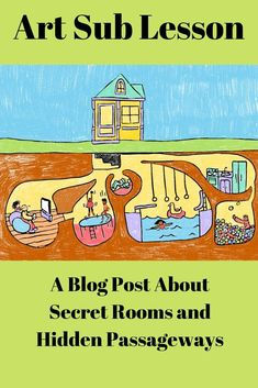 Art Sub Plan - Secret Rooms and Hidden Passageways - Mara Elementary Drawing, Art Lessons Elementary, Upper Elementary, Art Sub Plans, Art Lesson Plans, School Kids, Art School, Primary School Art, Secondary School
