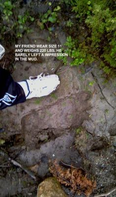 Bigfoot Evidence: Troll Foot Print From Norway