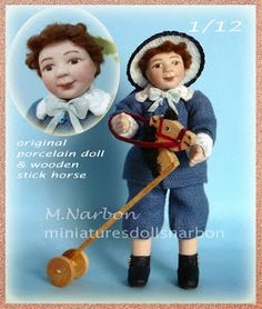 *Actual OFFER 15 to 31 May 2015 is: Little BOY, scale 1/12 original porcelain doll, with or without wooden stick horse.  https://www.etsy.com/listing/99399744/dollhouse-little-boy-1-12-scale?ref=shop_home_active_2