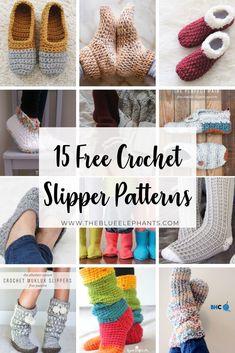 Easy Crochet Slippers, Crochet Socks Pattern, Baby Booties Knitting Pattern, Crochet Shoes, Knit Crochet, Free Crochet Slipper Patterns, Crochet Socks Tutorial, Crochet Slipper Boots, Crochet Instructions