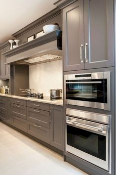 63 awesome gray kitchen cabinet design ideas