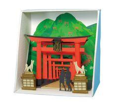 "Paper Nano ""Inari Shrine"" | Kawada PN-111"