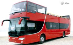Autocarro de dois pisos construido pela Liderbus | Double decker Liderbus construction CITYlider