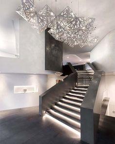 Design by Hillam Architects. #Staircase ///  Diseño por Hillam Arquitectos. #d_signers