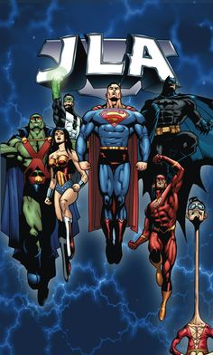JLA Vol.6 by Doug Mahnke and Tom Nguyen *