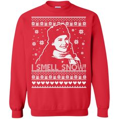 Gilmore Girl Lorelai sweater: I Smell Snow