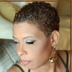 The best collection of Short Natural Curly Hairstyles latest and best short natural curly hairstyles short hairstyles for natural hair. Short Natural Styles, Short Natural Curly Hair, Natural Hair Bun Styles, Short Natural Haircuts, Natural Hair Cuts, Short Sassy Hair, Short Black Hairstyles, Hairstyles Haircuts, Short Hair Cuts