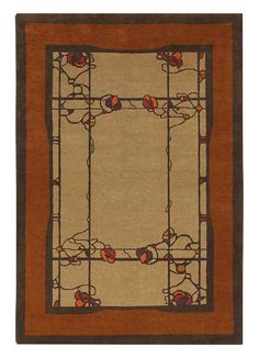 craftsman wool rug to replace existing small rugs.  This is just an example.