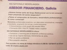 Asesor financiero.