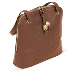 One Kings Lane - Vintage Designer Bags - Chanel Brown Caviar Leather Tote