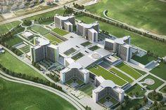 Etlik Hospital Project Turchia | Collaborazione di STEAV Srl con Studio Altieri SpA per lo sviluppo in BIM del progetto esecutivo del complesso ospedaliero di Etlik ad Ankara - il più grande al mondo