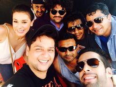 Goa shoot for 3AM — with Anindita nayar and Richard de Varda.