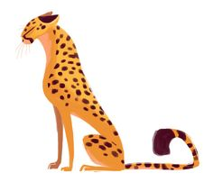 Pin by isaiah devaj smith bodden on animal animais, gatos gu Cheetah Drawing, Cat Drawing, Big Cats Art, Cat Art, Animal Sketches, Animal Drawings, Sketch Style, Posca Art, Creature Design