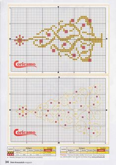 Simple and elegant Small Cross Stitch, Cross Stitch Tree, Cross Stitch Books, Cross Stitch Charts, Cross Stitch Patterns, Cross Stitching, Cross Stitch Embroidery, Embroidery Patterns, Cross Stitch Christmas Ornaments