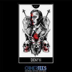 XIII: Lecter by mrtnljmn Shirt on sale until 12 April on http://othertees.com #hannibal