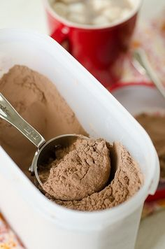 Creamy, rich hot chocolate mix - better than any store-bought packets