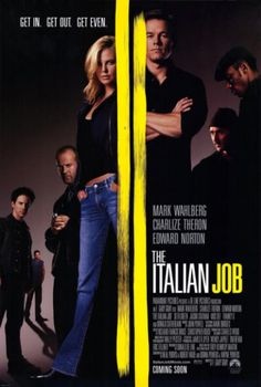 The Italian Job. This movie was forgettable. Literally, I can't remember anything about this movie. I think that says it all. 1 of 5