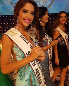Katherine Garcia Consigue el titulo de Miss Sudamerica Intercontinetal 2015 en Alemania